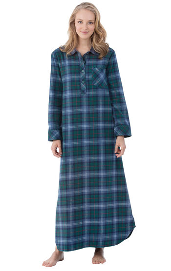 Heritage Plaid Flannel Nighty