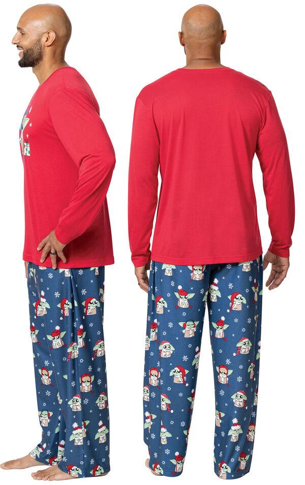 Baby Yoda Men's Pajamas by Munki Munki® image number 1