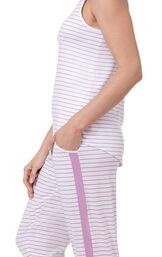 Three-Piece Cute Pajama Set image number 4