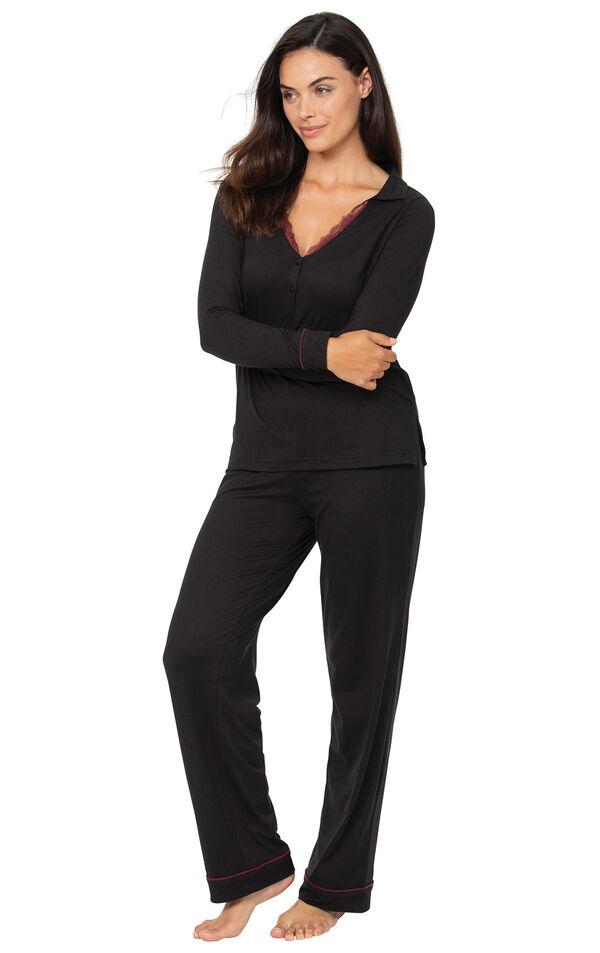 Midnight Fantasy Pajamas - Black image number 1