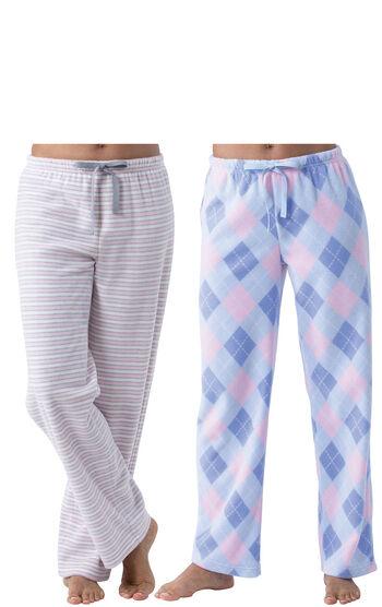 Addison Meadow|PajamaGram Fleece Pant 2-Pack - Pink Multi