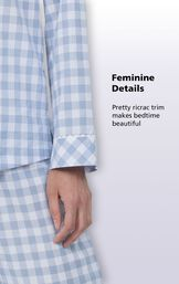 Feminine Details - Pretty ricrac trim makes bedtime beautiful image number 5