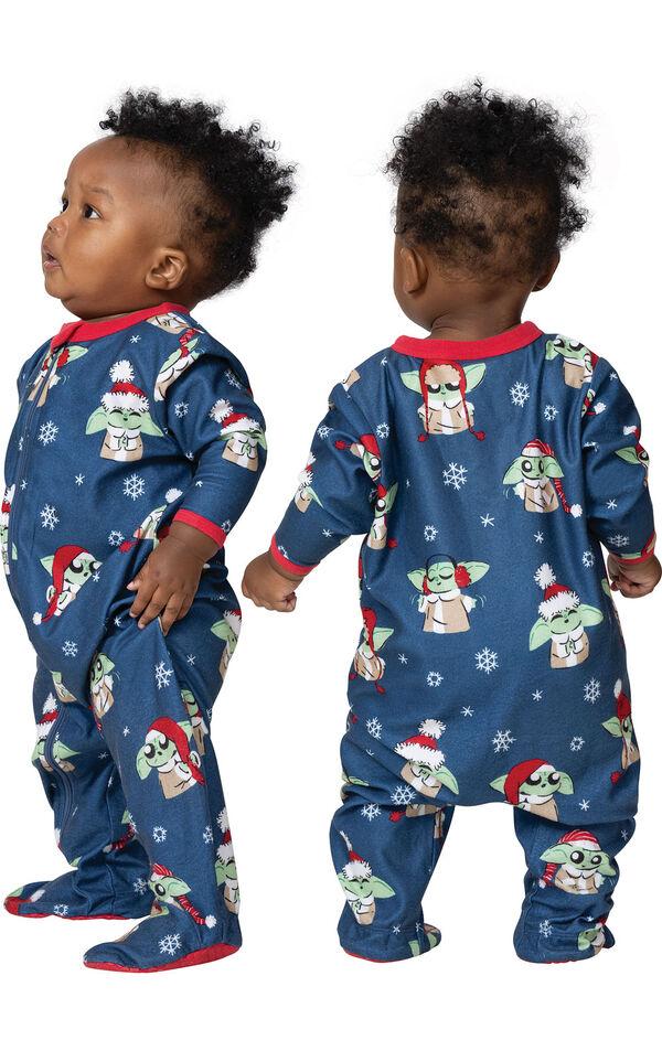 Baby Yoda Infant Pajamas by Munki Munki® image number 1