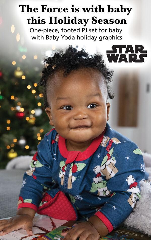 Baby Yoda Infant Pajamas by Munki Munki® image number 2