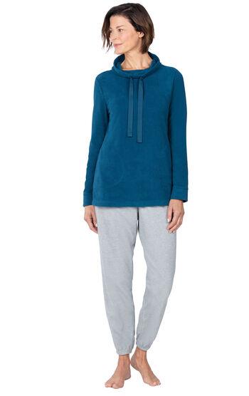 Addison Meadow PajamaGram Fleece Jogger PJs - Blue