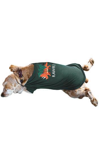 Santasaurus Dog Pajamas