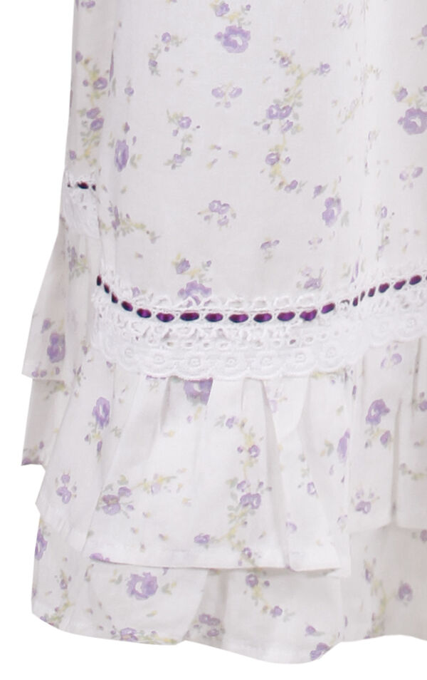 Model wearing Martha Nightgown in Lilac Rose for Women image number 5