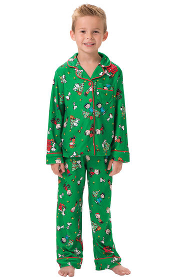 Charlie Brown Christmas Boys Pajamas