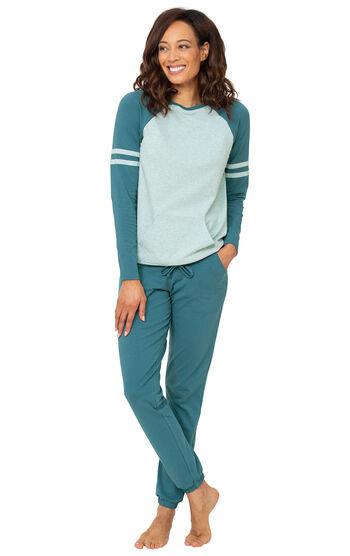 Addison Meadow|PajamaGram Sunday Funday PJs - Teal