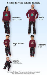 Harry Potter Matching Family Pajamas image number 3