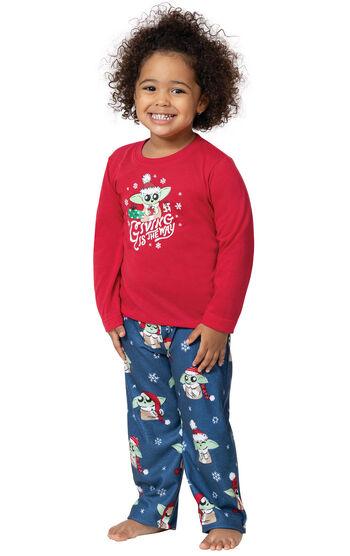 Baby Yoda Toddler Pajamas by Munki Munki®