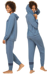 Relaxed & Cuddle Buddy Hoodie Matching Pet & Owner PJs image number 1