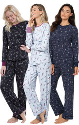 Feather Touch Pajamas Gift Set image number 0
