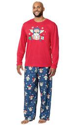 Baby Yoda Men's Pajamas by Munki Munki® image number 0