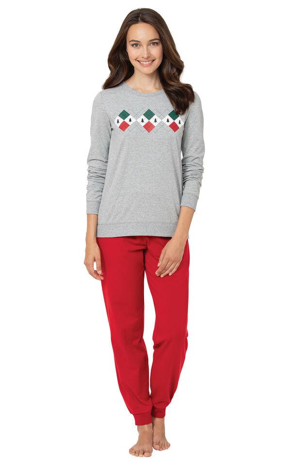 Holiday Argyle Pajamas image number 0