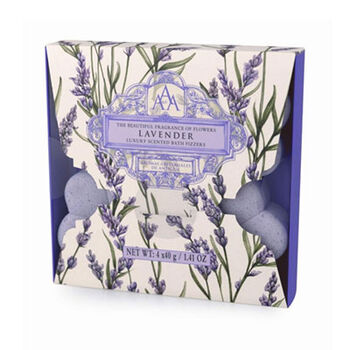 Lavender Luxury Bath Fizzers