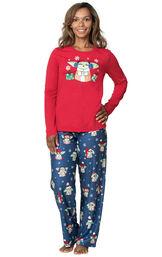 Baby Yoda Women's Pajamas image number 0