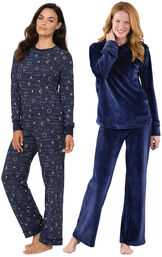 Celestial PJs and Blue Tempting Touch PJs image number 0