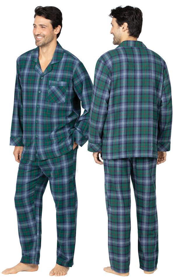 Heritage Plaid Flannel Men's Pajamas image number 1