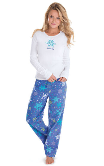 Addison Meadow|PajamaGram Flannel PJs - Flakey