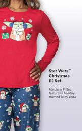 Baby Yoda Women's Pajamas image number 3