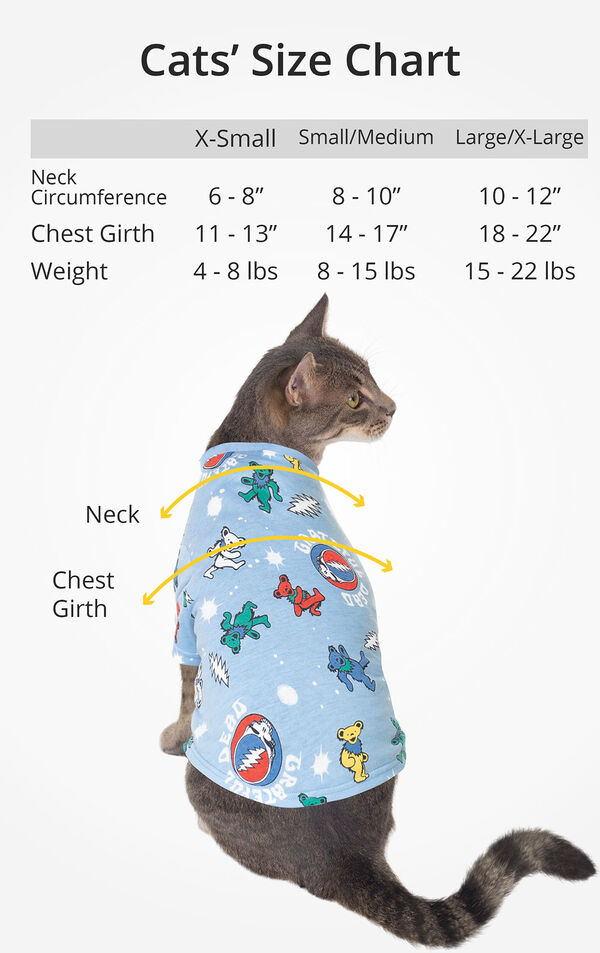 Cat Size Chart image number 3