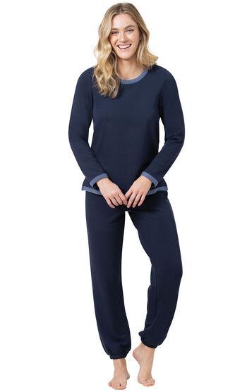 World's Softest Jogger Pajamas - Navy