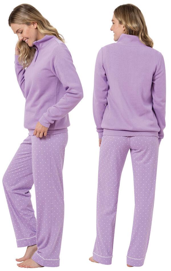 Classic Polka-Dot 3-Piece Pajama Set image number 1