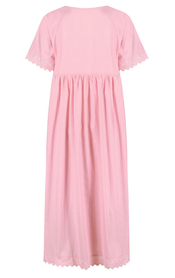 Model wearing Helena Nightgown in Pink for Women image number 3