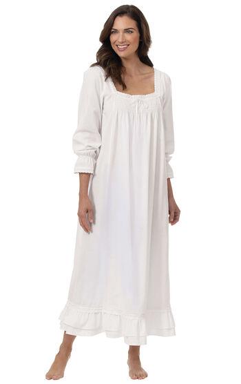 Martha Nightgown - White