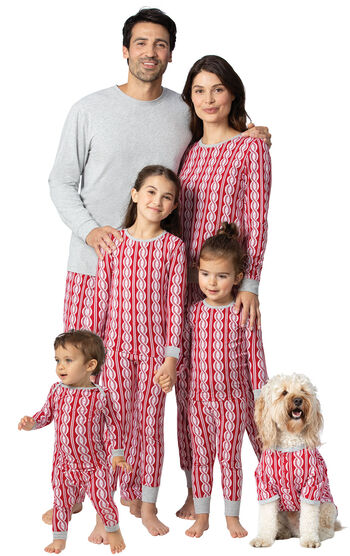 Peppermint Twist Matching Family Pajamas