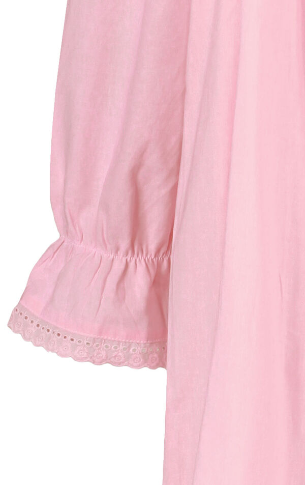 Model wearing Martha Nightgown in Pink for Women image number 5