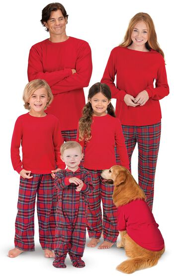 Stewart Plaid Flannel Matching Family Pajamas