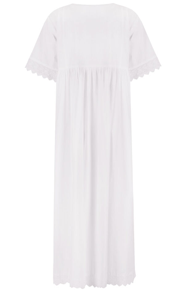 Model wearing Helena Nightgown in White for Women image number 5