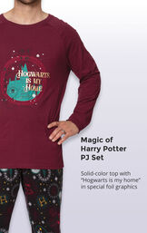 Harry Potter Men's Pajamas image number 3