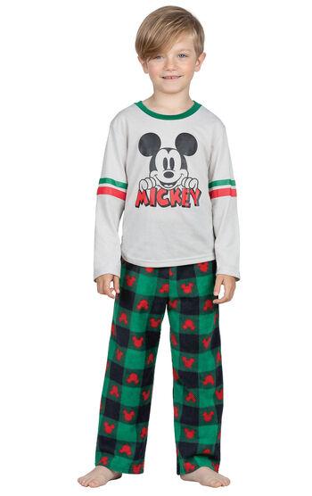 Mickey Boys Pajamas - Red/Green