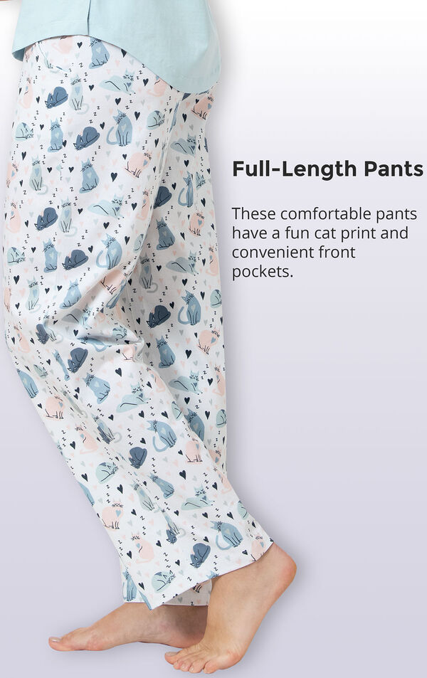 The Purrrfect Mom Women's Pajamas image number 4