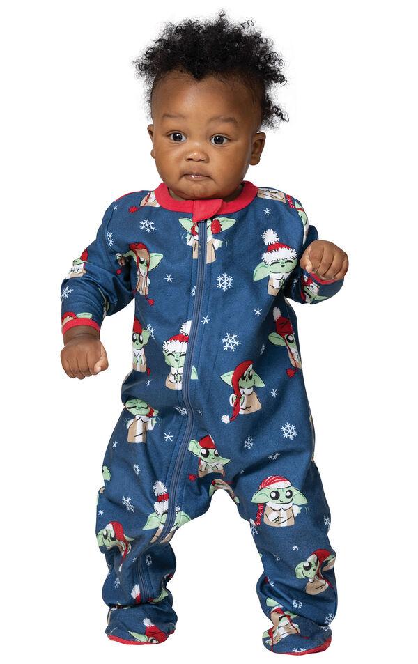 Baby Yoda Infant Pajamas by Munki Munki® image number 0