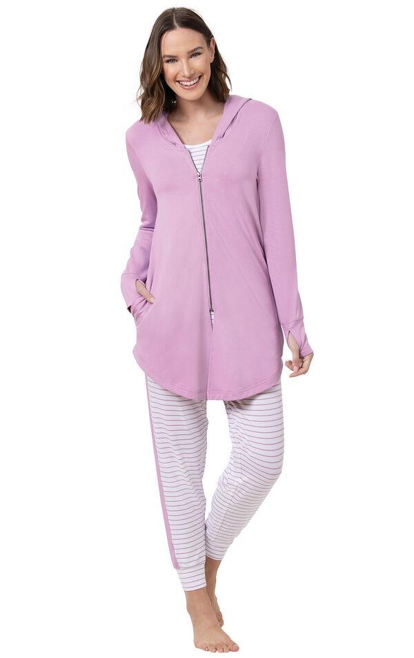 Three-Piece Cute Pajama Set image number 1