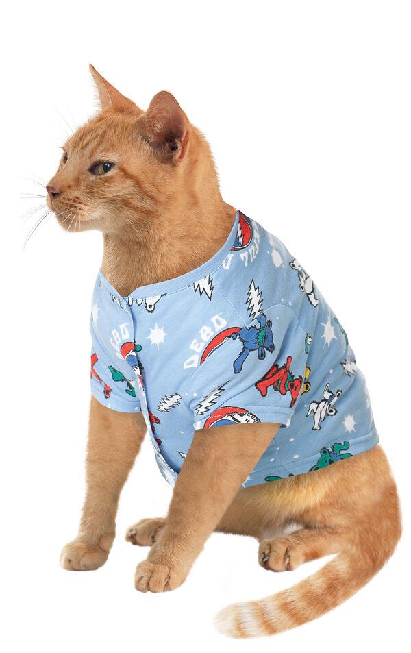 Blue Grateful Dead PJ - Cats image number 0