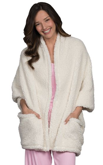 Shearling Cuddle Wrap