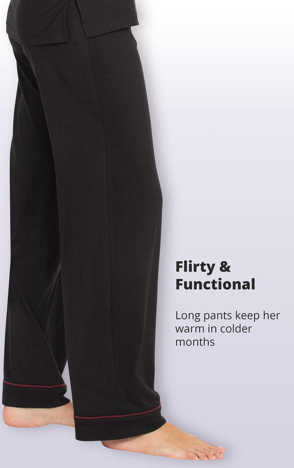 Long pants keep her warm in colder months image number 4