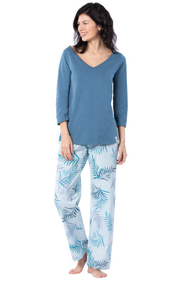 Margaritaville® Tropical Dreams Pajamas - Blue