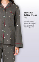 Heart of Gold Boyfriend Pajamas image number 3