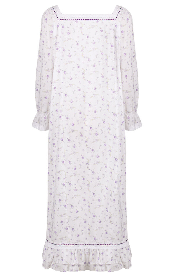 Model wearing Martha Nightgown in Lilac Rose for Women image number 3