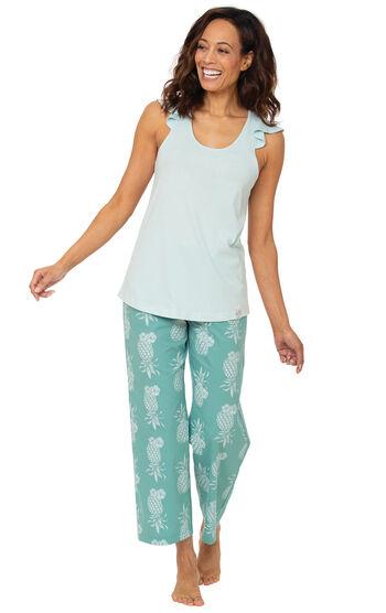 Margaritaville® Easy Island Capris Pajamas - Turquoise