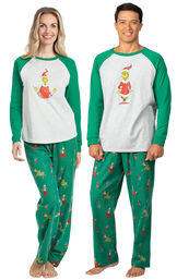 Dr. Seuss' The Grinch™ His & Hers Matching Pajamas image number 0