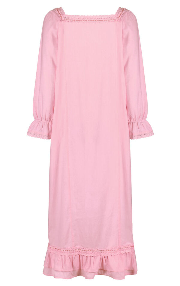 Model wearing Martha Nightgown in Pink for Women image number 3