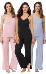 Deluxe Naturally Nude Cami PJs Gift Set image number 0