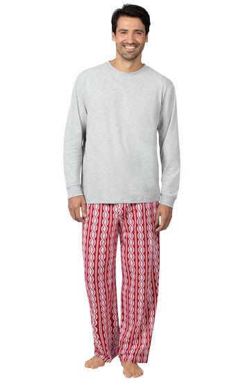 Peppermint Twist Men's Pajamas